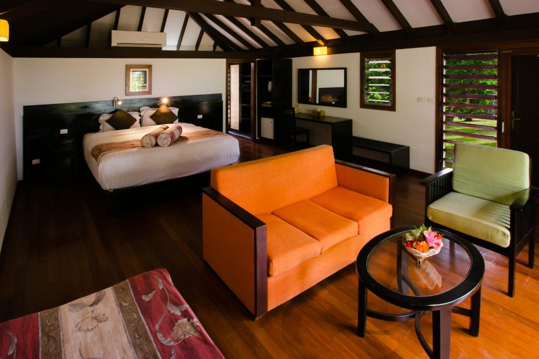 Deluxe Ocean View Bure Bedroom